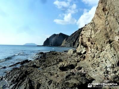 Calblanque y Calnegre - Cabo Tiñoso; viaje naturaleza; costa puntas negras;rutas sierra guadarrama